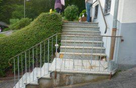 Alten Treppenaufgang vorher1