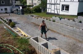 Holzmichel Naturstein in arbeit