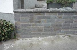 Pflasterarbeiten Naturstein fertig