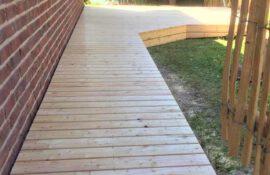 Terrassenbau Holz Holzmichel
